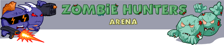 Game Zombie Hunters - arena online